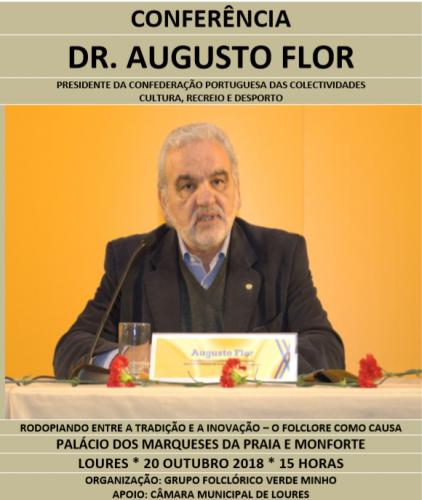 Rodopiando entre a tradição a a inovação - o Folclore como causa - Dr. Augusto Flor