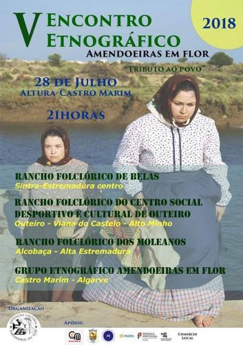 V Encontro Etnográfico Amendoeiras em Flor - Altura - Castro Marim
