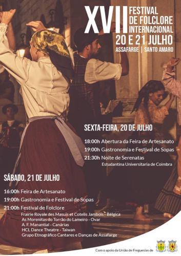 XVII Festival Internacional de Folclore - Assafarge - Santo Amaro