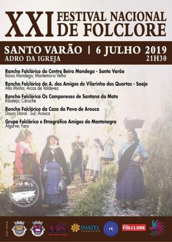 XXI Festival Nacional de Folclore