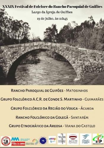 XXXIX Festival de Folclore do Rancho Paroquial de Guifões