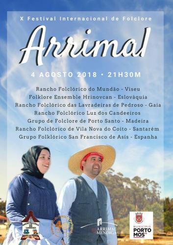 X Festival Internacional de Folclore - Arrimal